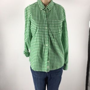 Gap Long Sleeves Gingham Shirt (G2013)